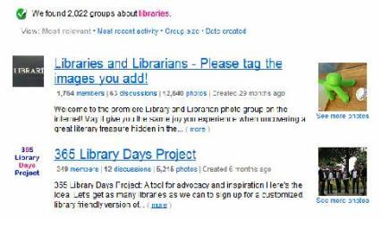 flickr results